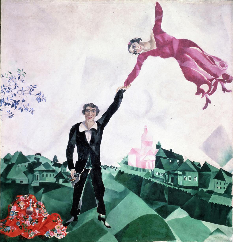 """Marc Chagall """"anche la mia Russia mi amerà"""""""